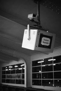 Surveillance camera out of order