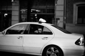 Man in cab