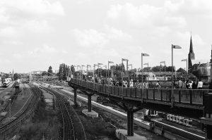 Warsaw bridge in Berlin at 2012