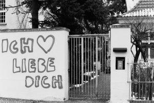 Ich liebe dich Graffiti