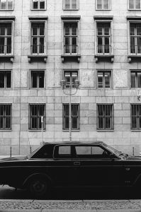 LP 12 Ausgang. Oltimer Car. Berlin, Germany 2016 © Linus Ma. all rights reserved / www.linusma.com