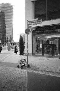 Berlin Potsdamer Platz Ecke Erna-Berger-Straße